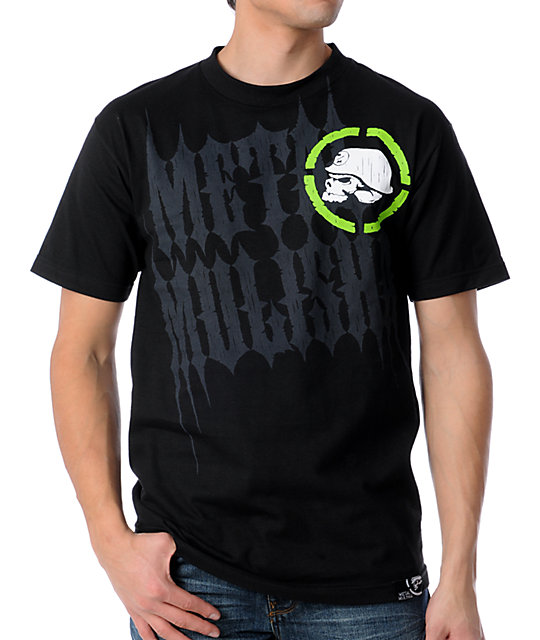 Metal Mulisha Mens Glimpse Black T-Shirt