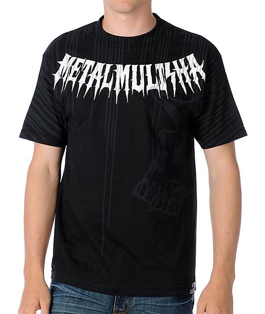 Metal Mulisha Mens Obscured Black T-Shirt