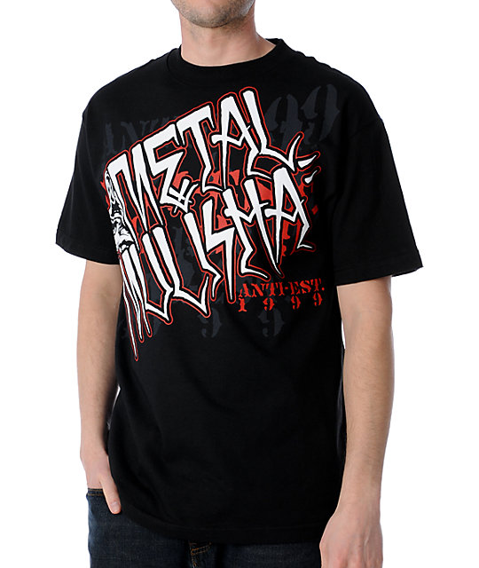 Metal Mulisha Municipal Black T-Shirt