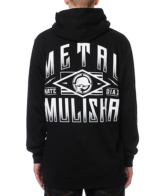 Metal Mulisha Nate Diaz Scope Black Pullover Hoodie