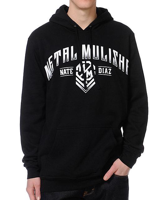 Metal Mulisha Nate Diaz Scope Black Pullover Hoodie