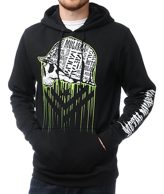 Metal Mulisha Negative Black Pullover Hoodie