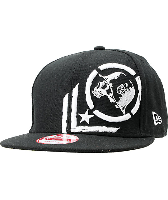Metal Mulisha Quake Black New Era Snapback Hat