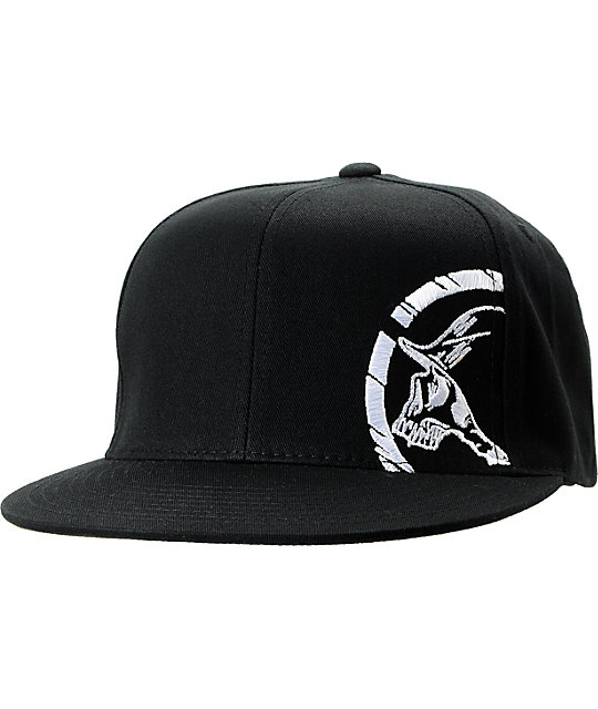 Metal Mulisha Rear Black Snapback Hat