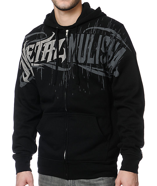 Metal Mulisha Recharge Black Zip Up Hoodie