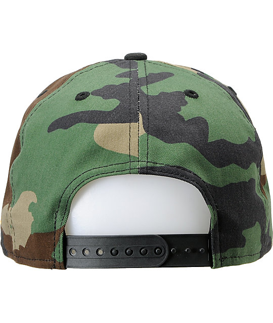 Metal Mulisha Restore Camo & Black New Era Snapback Hat
