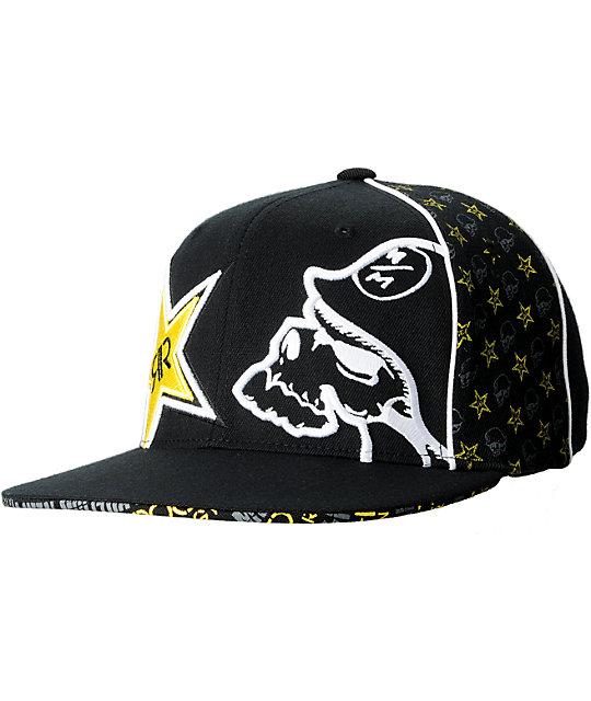 Metal Mulisha Rockstar Team 2 Black Hat