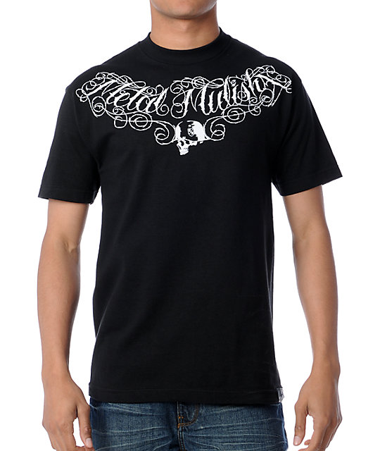 Metal Mulisha Rogue Poet Black T-Shirt