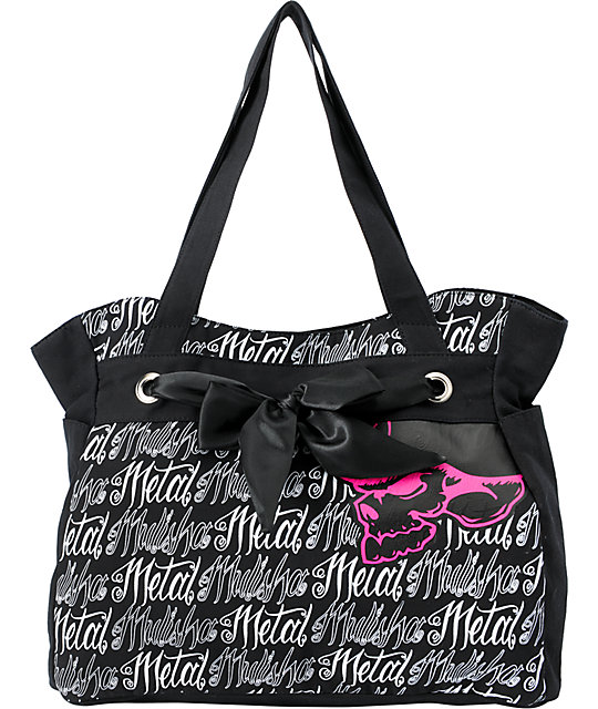 Metal Mulisha Say My Name Black Tote Bag