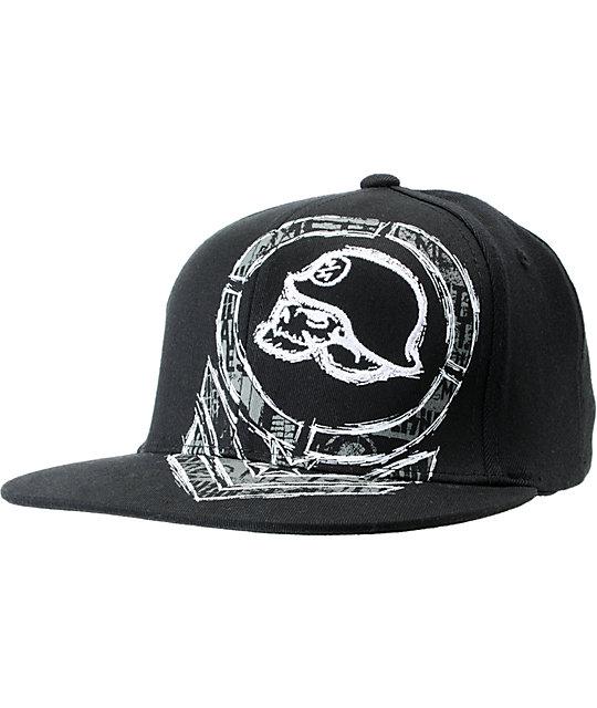 Metal Mulisha Scrape Black Flexfit Hat