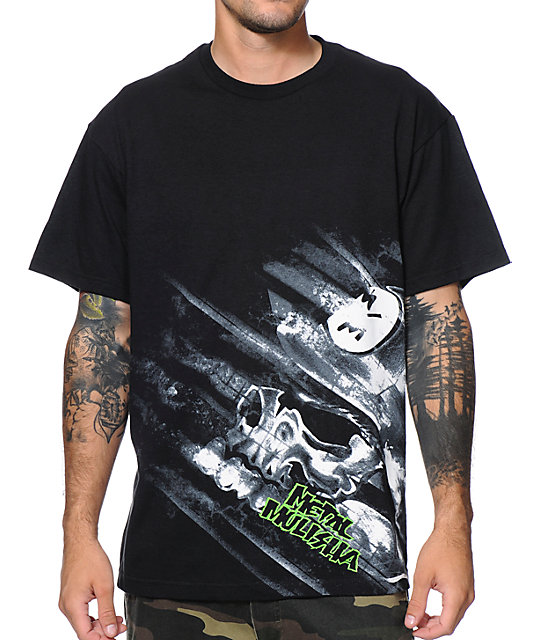 Metal Mulisha Scrub Black T-Shirt