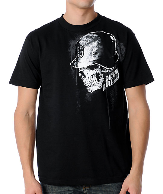 Metal Mulisha Shook Black T-Shirt