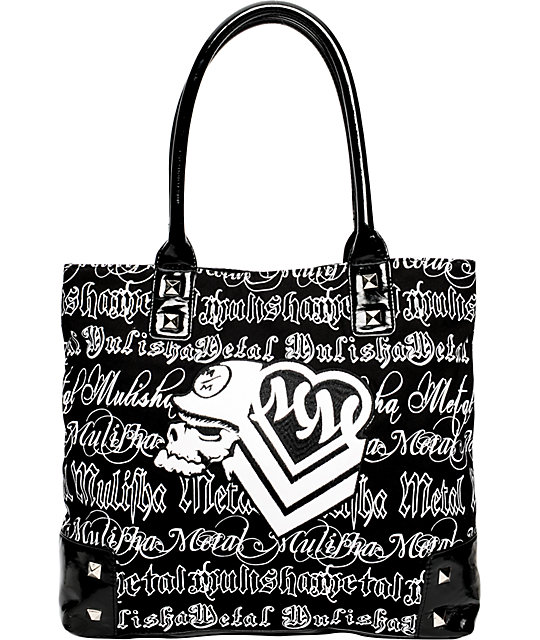 Metal Mulisha Simplicity Black Tote