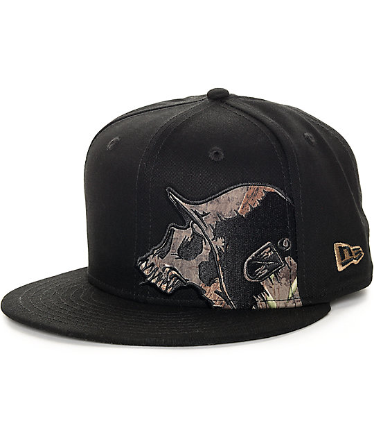 Metal Mulisha Sly Black Snapback Hat