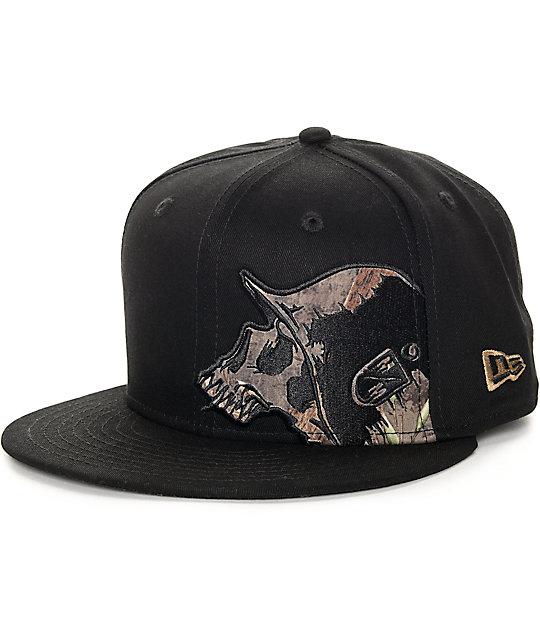 Metal Mulisha Sly Black Snapback Hat