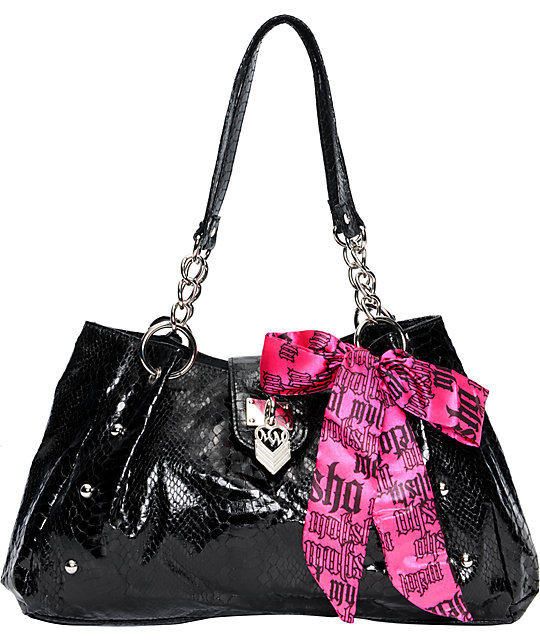 Metal Mulisha Starstruck Black Purse