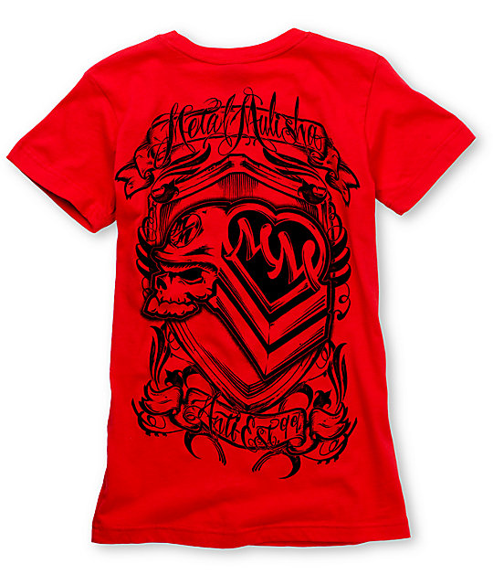 Metal Mulisha Status Red T-Shirt