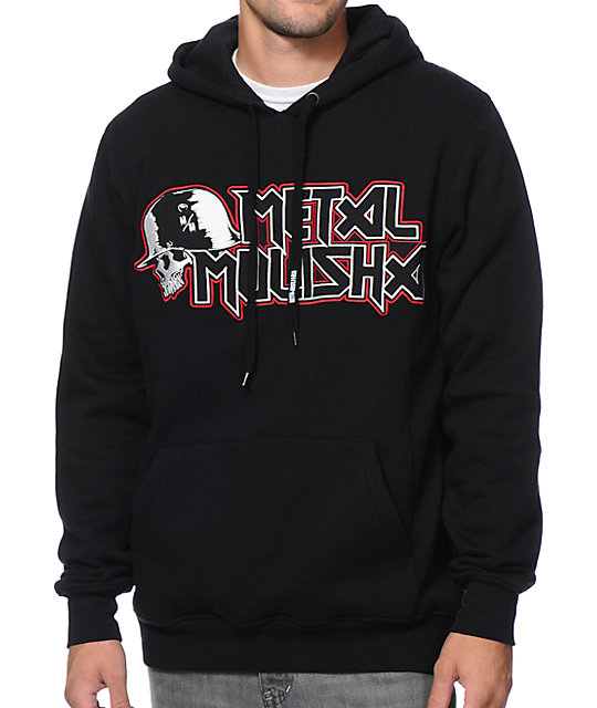 Metal Mulisha Steady Black Pullover Hoodie