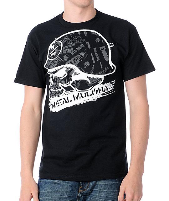 Metal Mulisha Streak Black T-Shirt