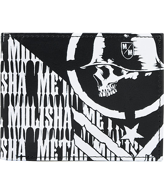 Metal Mulisha Thriller Black Bifold Wallet