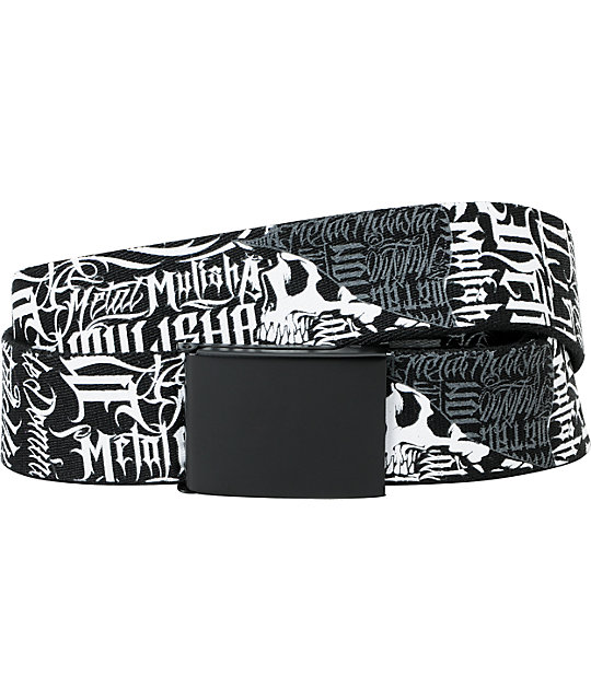 Metal Mulisha Wallstreet Web Belt