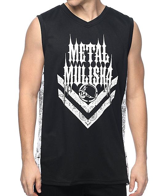 Metal Mulisha Westside jersey negro