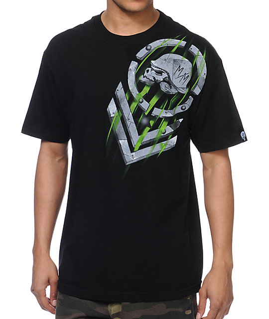 Metal Mulisha Wind Tunnel Black T-Shirt