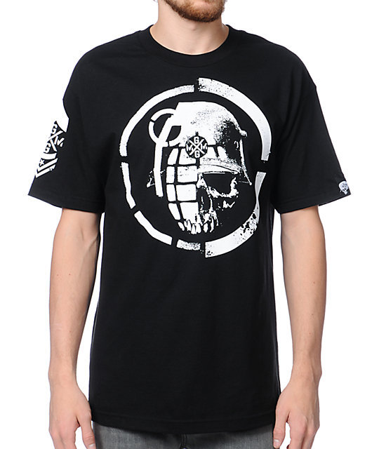 Metal Mulisha x Grenade Mashup Black T-Shirt