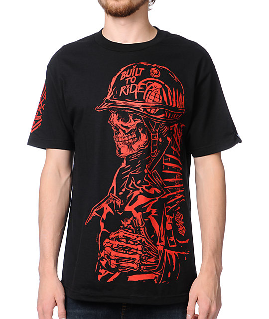 Metal Mulisha x Grenade Pull The Pin Black T-Shirt