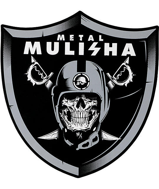Metal Mulisha x Nation 6 Sticker