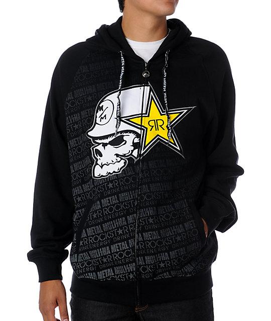 Metal Mulisha x Rockstar Bronx Black Hoodie