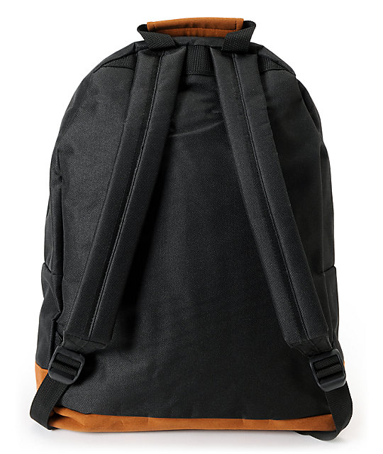Mi-Pac Black, Teal & Burgundy Tonal Backpack
