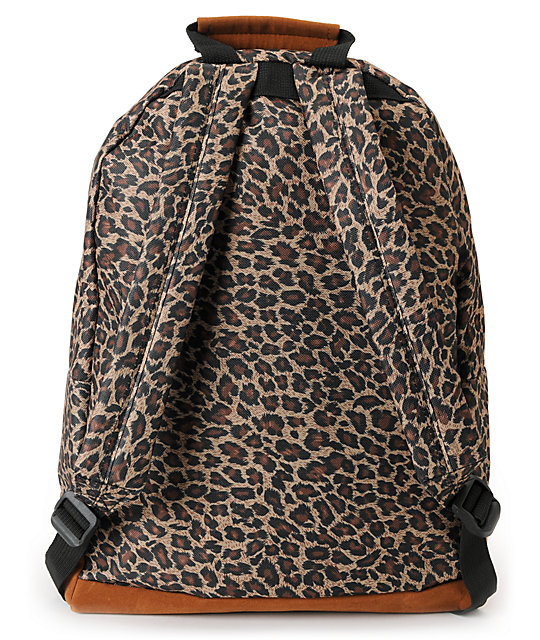 Mi-Pac Leopard & Black Backpack