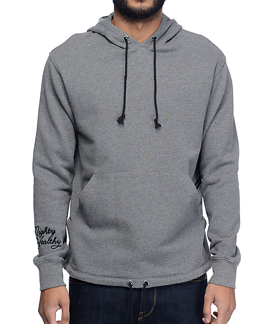 Mighty Healthy Tracer Grey Hoodie