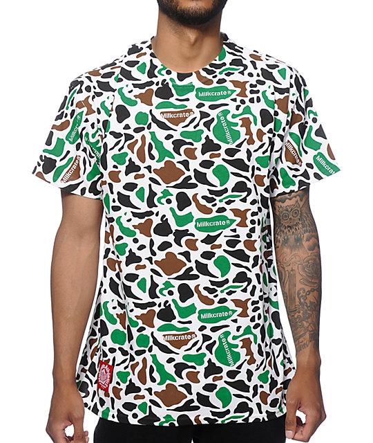 Milkcrate Custom Camo T Shirt At Zumiez Pdp