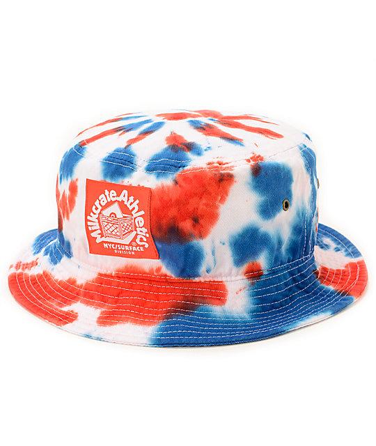 Milkcrate USA Tie Dye Bucket Hat