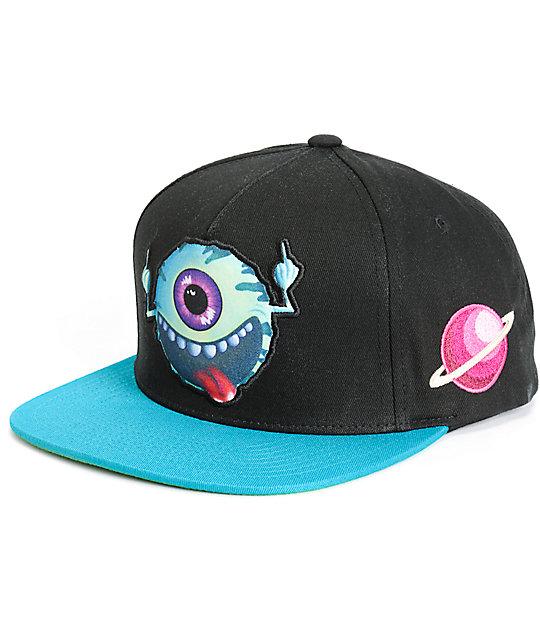 Mishka Cosmic Keep Watch Snapback Hat