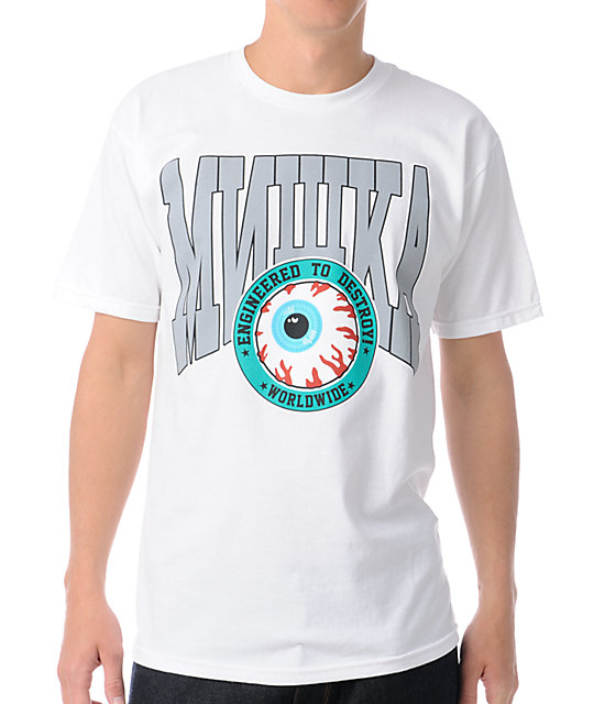 Mishka Worldwide Expansion White T-Shirt