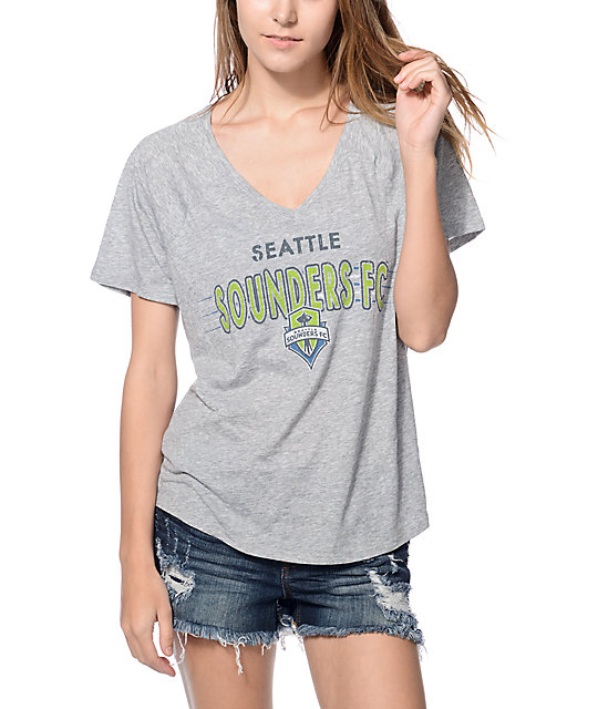 Mitchell & Ness Seattle Sounders camiseta con cuello en V