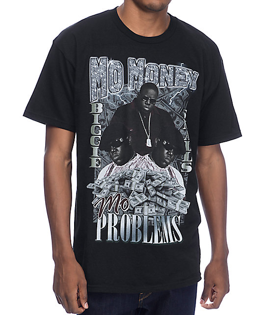 Mo money mo problems black t shirt at zumiez pdp for How to make a shirt with money
