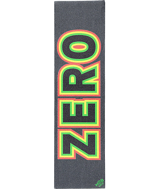 Mob x Zero Rasta Bold Grip Tape