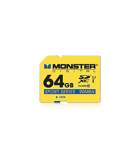 Monster SD Sport 64GB Micro Memory Card