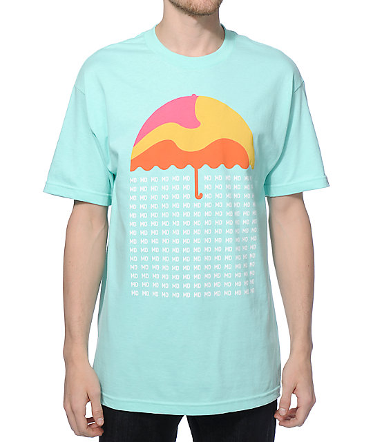 Most Dope Raining Umbrella T-Shirt