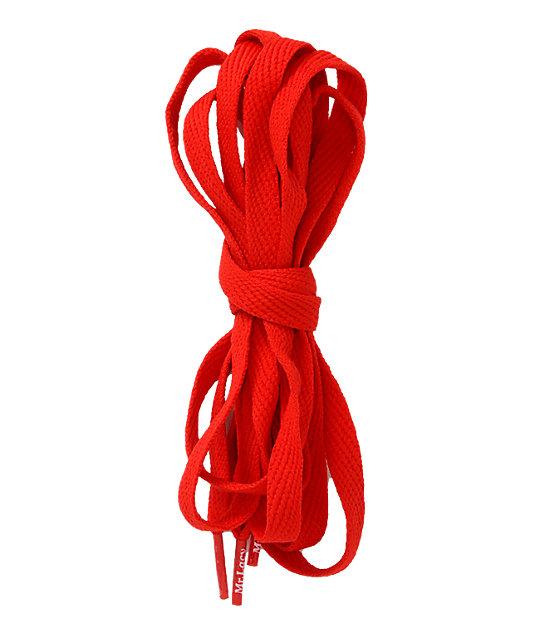 Mr. Lacy Flatties Red Shoe Laces at Zumiez : PDP