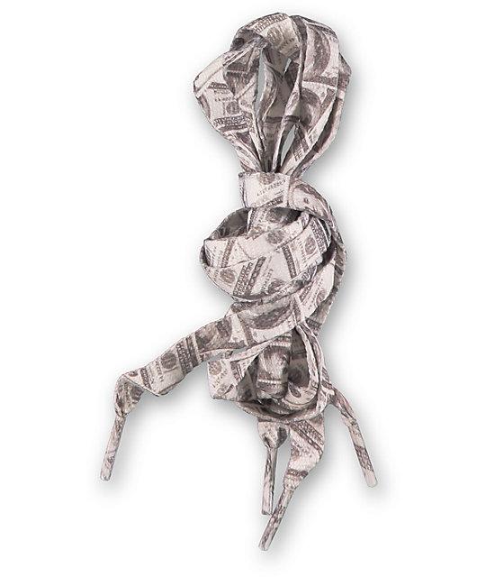 Mr. Lacy Printies Dollar Bills Shoe Laces