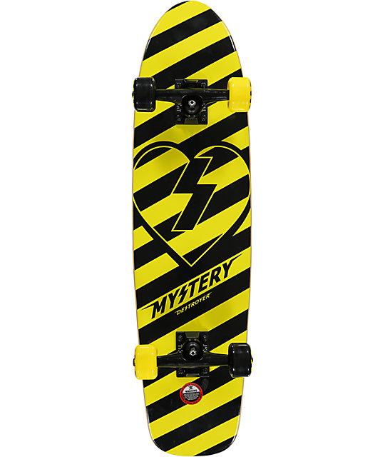 "Mystery Destroyer 31""  Cruiser Complete Skateboard"
