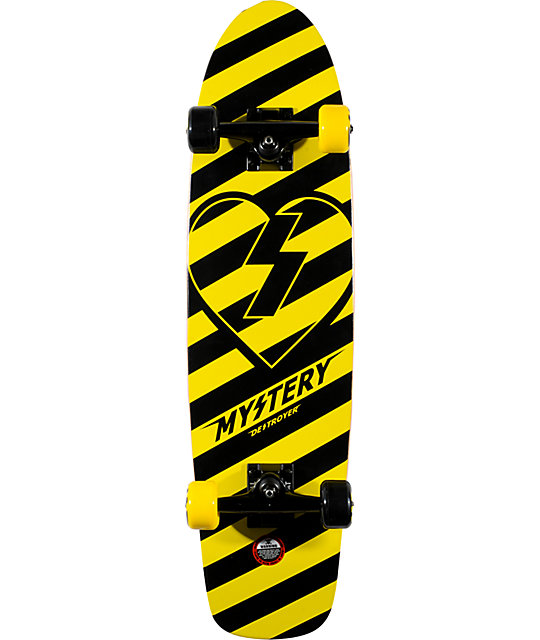 "Mystery Destroyer 31.75""  Cruiser Complete Skateboard"