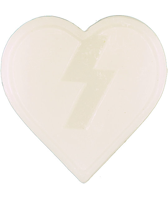 Mystery Heart White Wax