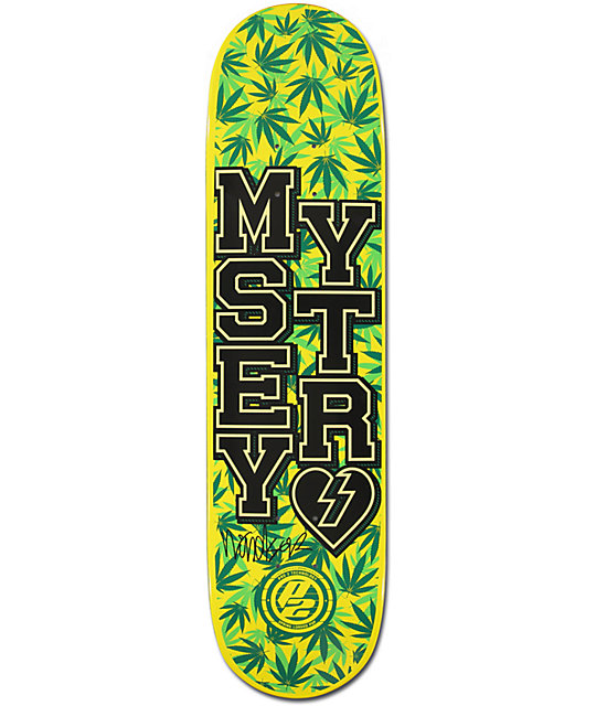 "Mystery James Varsity P2 7.75""  Skateboard Deck"