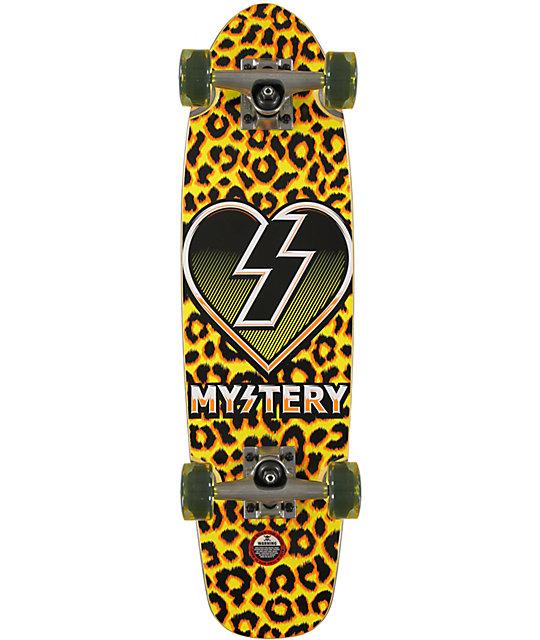 "Mystery Leopard 26.75""  Cruiser Complete Skateboard"